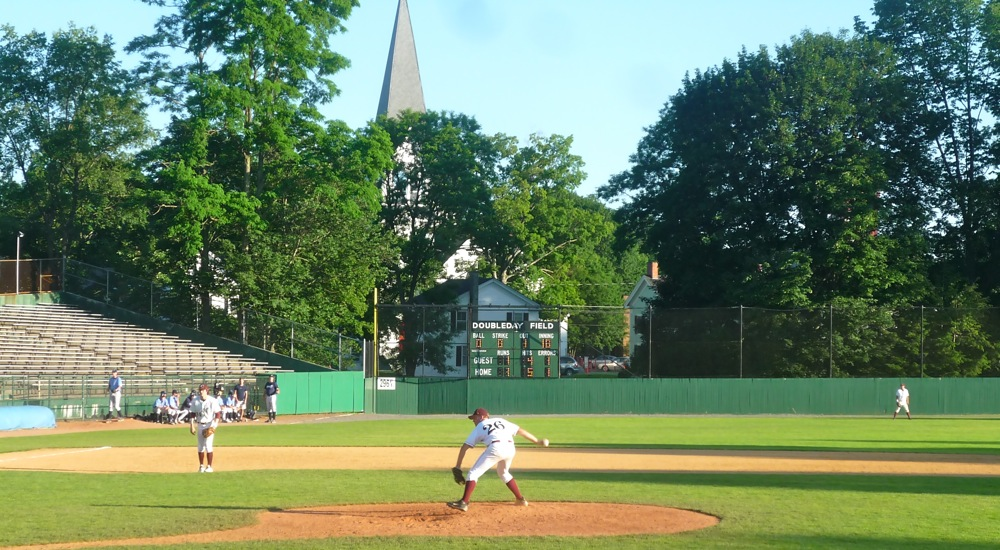 Visiting Doubleday Field in Cooperstown NY