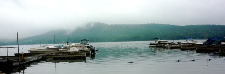 Fog on Otsego Lake, Cooperstown, NY