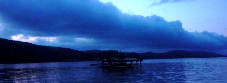 Nighttime at Otsego Lake, Cooperstown NY