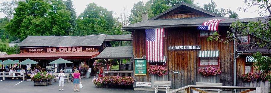 Fly Creek Cider Mill, Fly Creek, N.Y.