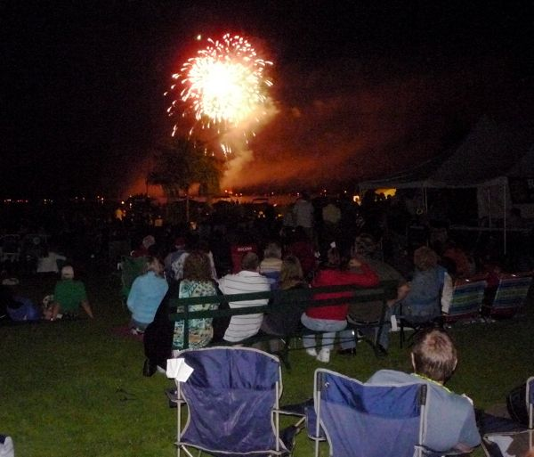 Cooperstown Otsego Lake Fireworks