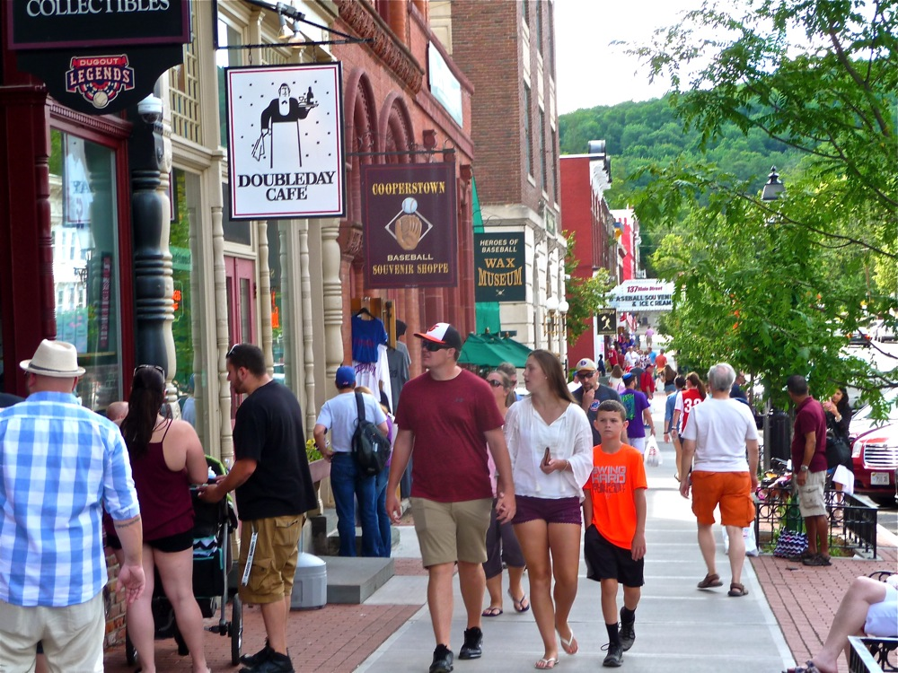 Main Street in Cooperstown NY