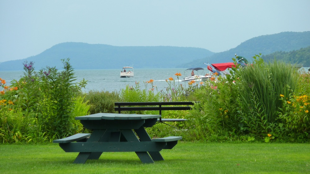 Lakefront Park in Cooperstown NY